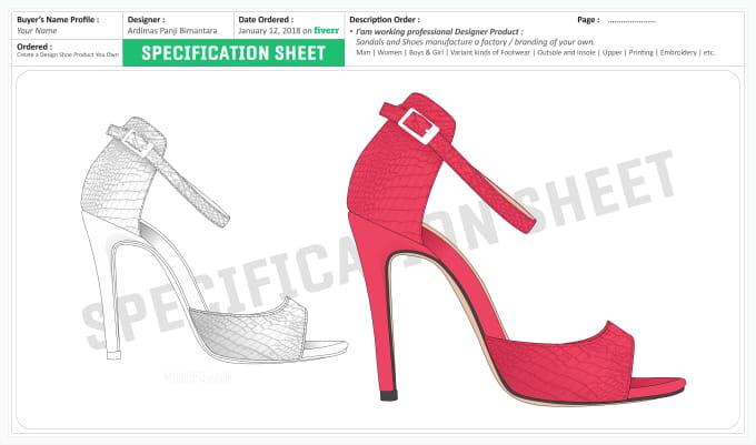 51ecc5f64664f5 Create a shoes design product you own by Ardimaspanji