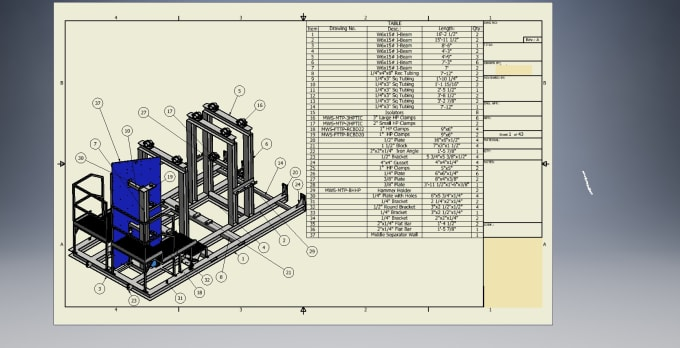 yddet14 : I will create a fab sheet with solidworks or inventor for $15 on  www fiverr com