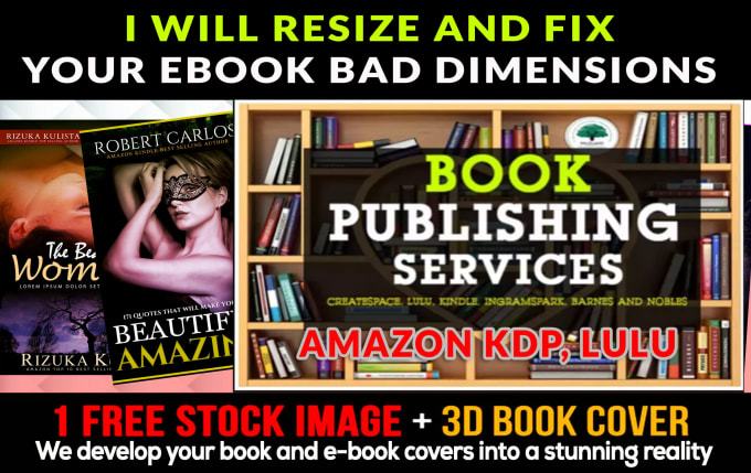 Do Book Cover Resize For Amazon Kdp Lulu Bad Dimensions 8 Hrs