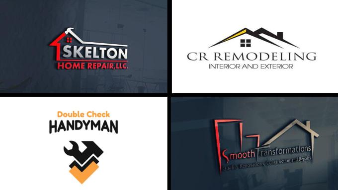 Design Home Decor Or Remodeling And Handyman Logo