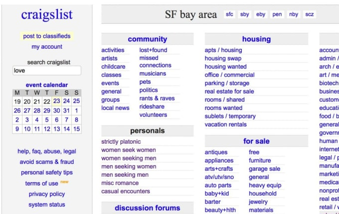 masaji890 : I will find craigslist ads that are expired for $995 on  www fiverr com
