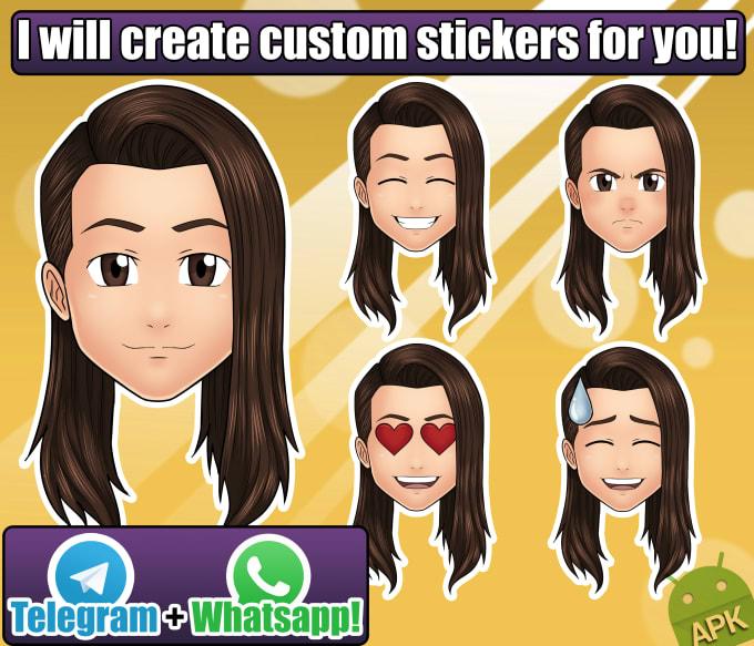 custom stickers whatsapp