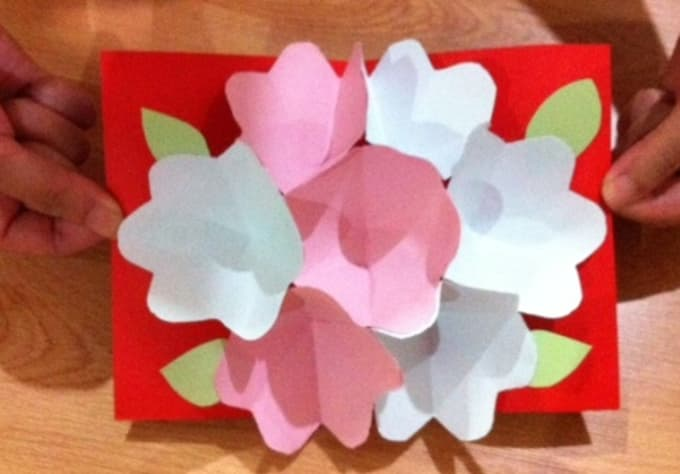 Send you or your designated recipient this beautiful handmade 3d pop send you or your designated recipient this beautiful handmade 3d pop up flower card mightylinksfo