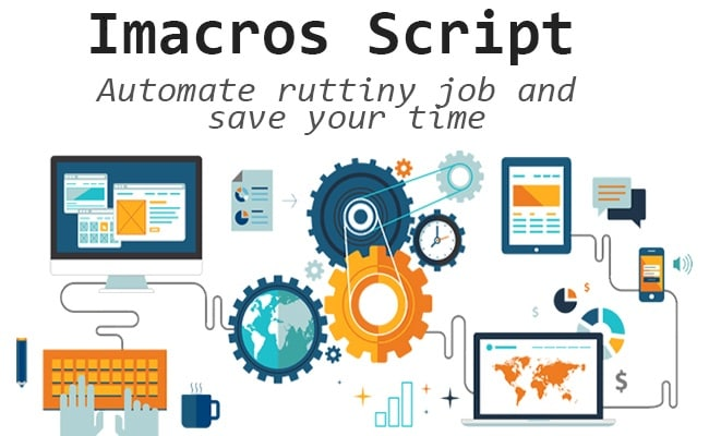 mr_sweeney : I will make imacros scripts for web automation and web  scraping for $20 on www fiverr com