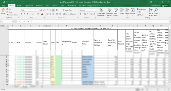 do 100 percent accurate data entry in ms excel and google spreadsheets