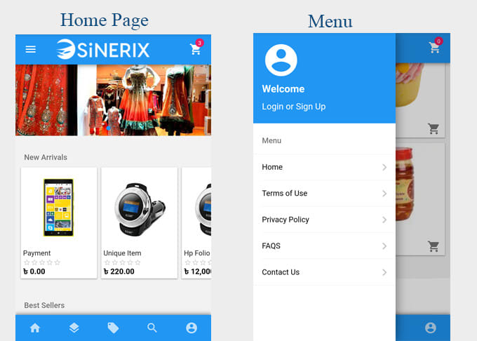 arif26 : I will give native app look to your ecommerce website in 24 hrs  for $10 on www fiverr com