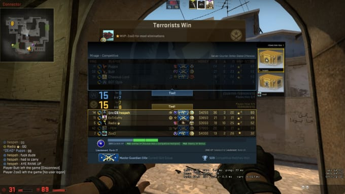 hespeh : I will teach people how to play csgo and how to improve aim for $5  on www fiverr com