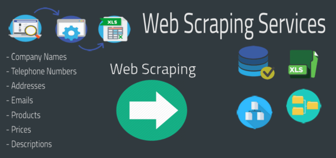 professional web scraping for you