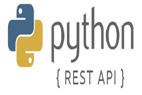 build rest API with python