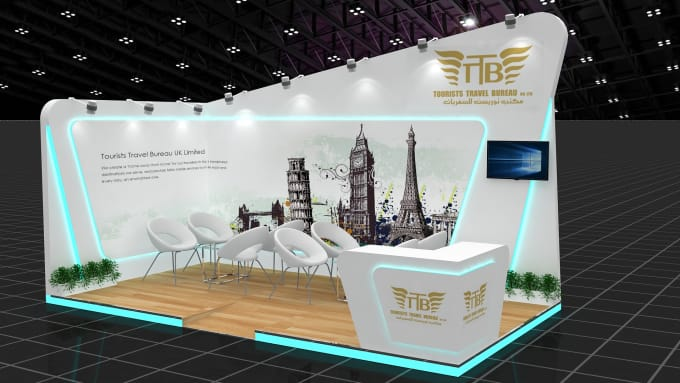 Exhibition Stall Agreement : Create kiosk exhibition stall exhibition booth and venue by