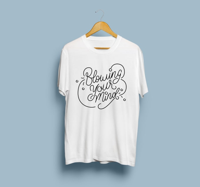 20bff424f Create beautiful hand lettering t shirt design by Rezkiaduh