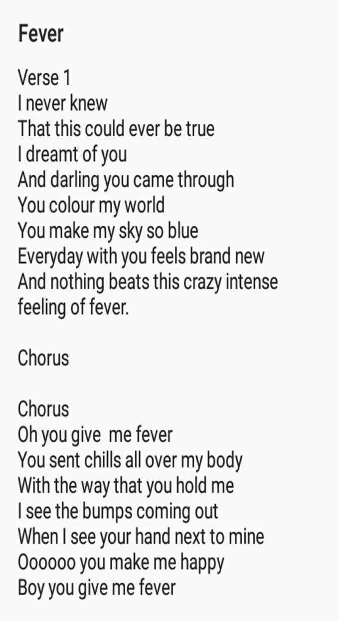 you make me happy lyrics