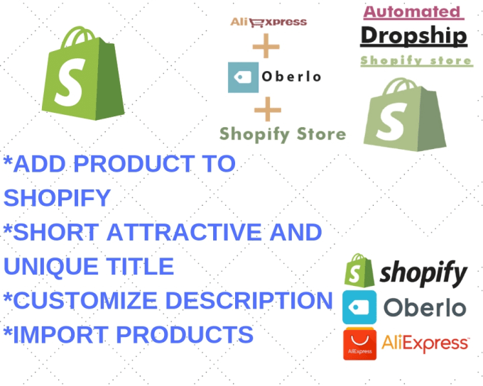 add product to shopify order using oberlo