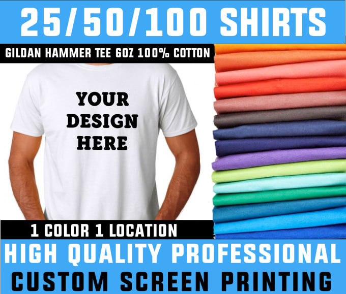 1087e629c Print custom tshirts of your logo or design by Threadwolf