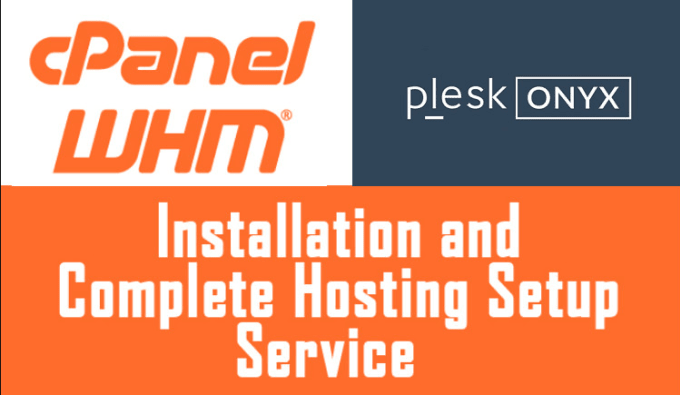 install cpanel whm plesk on your vps or dedicated server