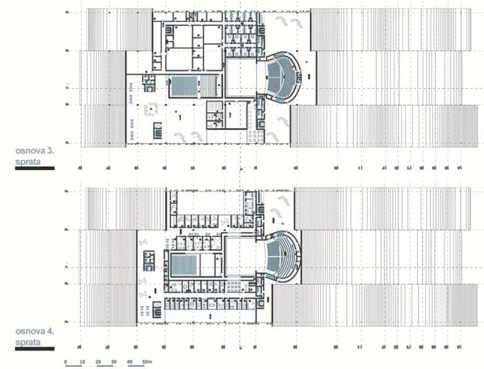 Draw floor plans in autocad and models