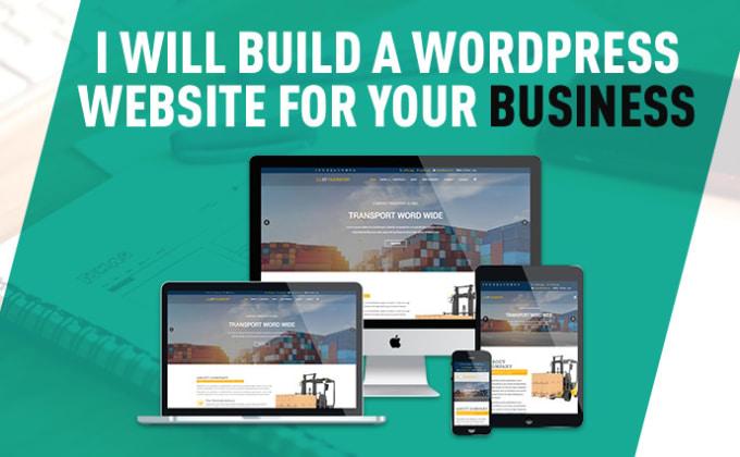 Image result for wordpress website with responsive web design