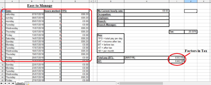 Create A Personal Finance Spreadsheet