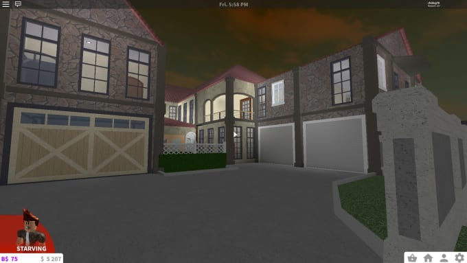 Build you a beautiful home in bloxburg by Chidog78