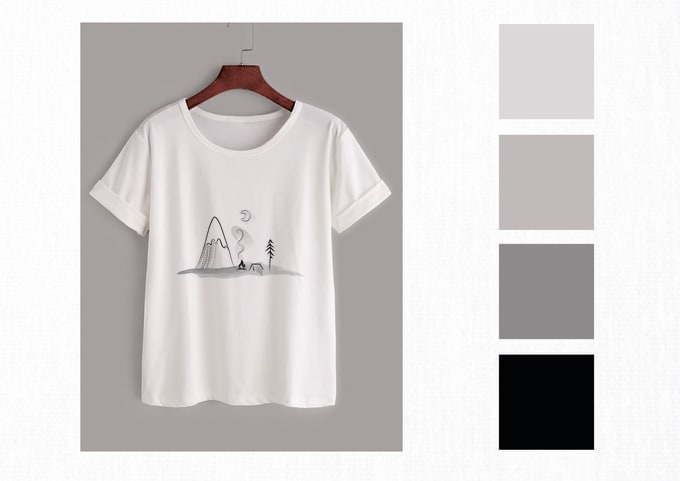 3ee724f5 Design a minimalist line drawing t shirt graphic by Veronicat592
