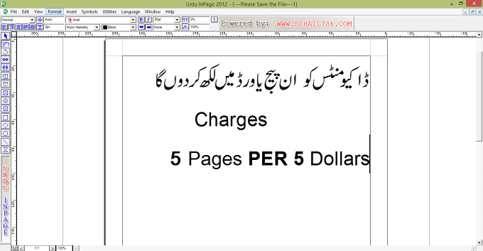 How To Type In Urdu In Word how to write urdu in Ms Word and