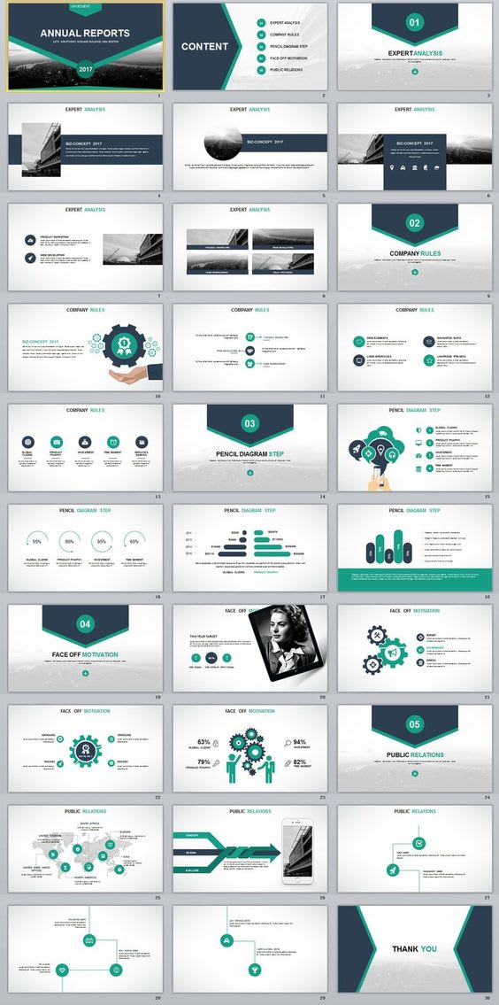 Create Professional Business Powerpoint Presentations By Alfariad