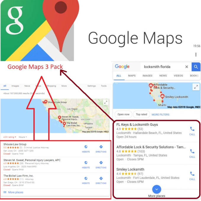 Rankup your business on google maps 3 pack by The_local_seo