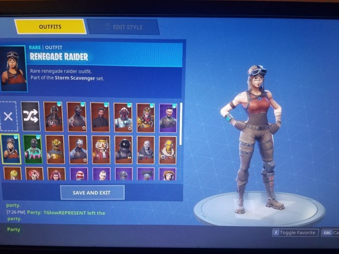 Be Your Fortnite Renegade Raider Coach