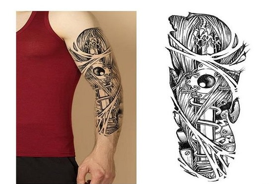 Draw custom tattoo designs by Nathankporter