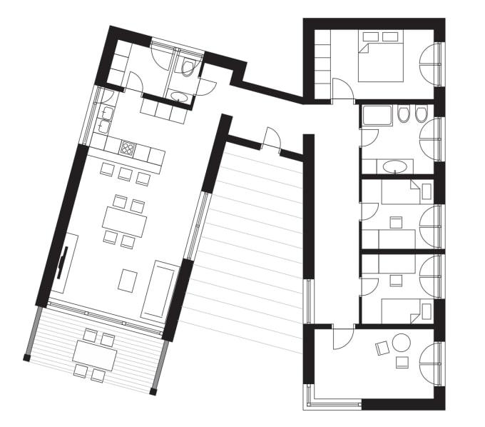 Draw a corel draw floor plan by