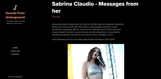 interview you on my music blog
