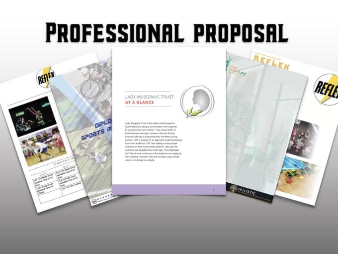 Create Modern Business Proposal Pdf Ppt Keynote