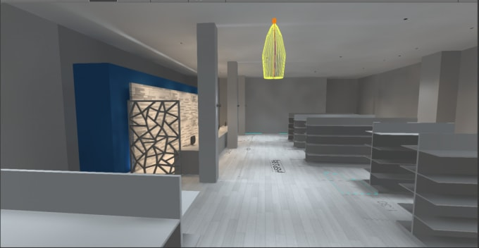 Make lighting design project and photometric calculation by