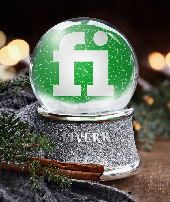 Put Your Logo Or Photo On Chritsmas Snow Globe By Mufreelancer