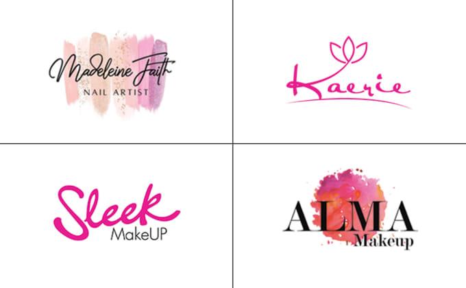 cosmetic, makeup, beauty or salon logo