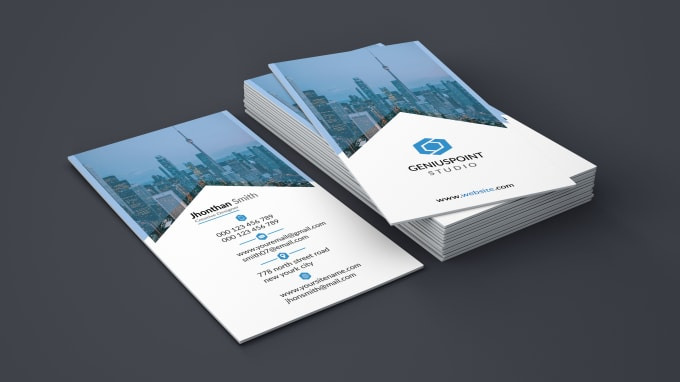 Provide Awesome Business Card Design By Rezwanshiblu