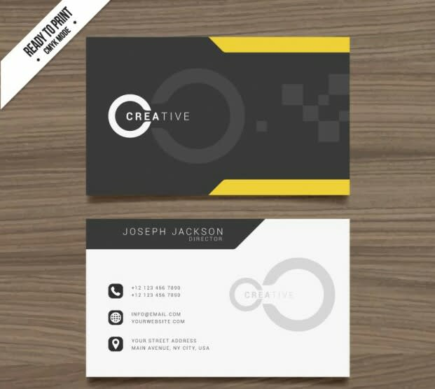 Best Professional Business Card Design By Projecttegno