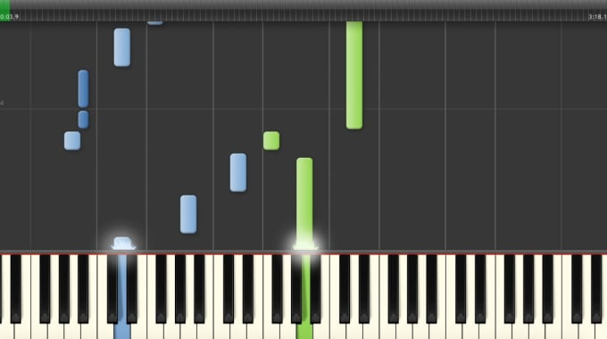 create a piano cover and sheet music and a video tutorial
