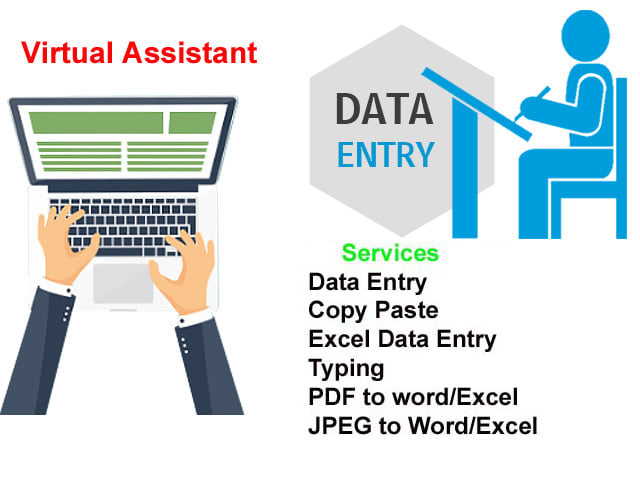 do data entry data analysis