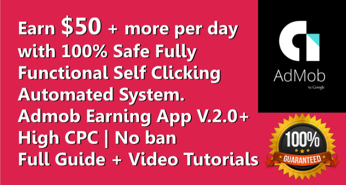 create high CPC admob android app within 4 hours