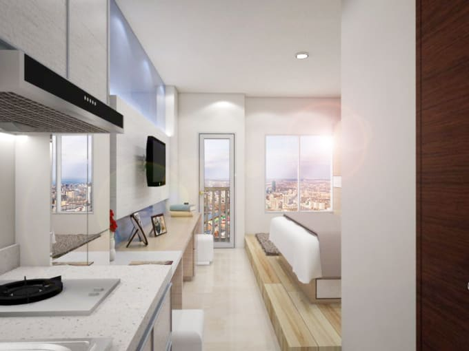 Design Your Interior Space Draw 48d 48d Floor Plan By Tattaradesign Unique 2D Interior Design Property