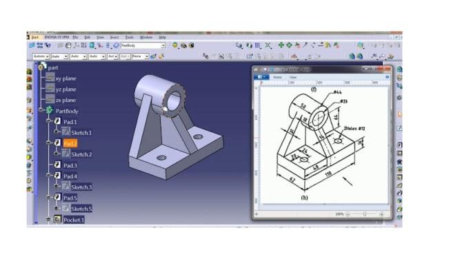 design catia parts for you