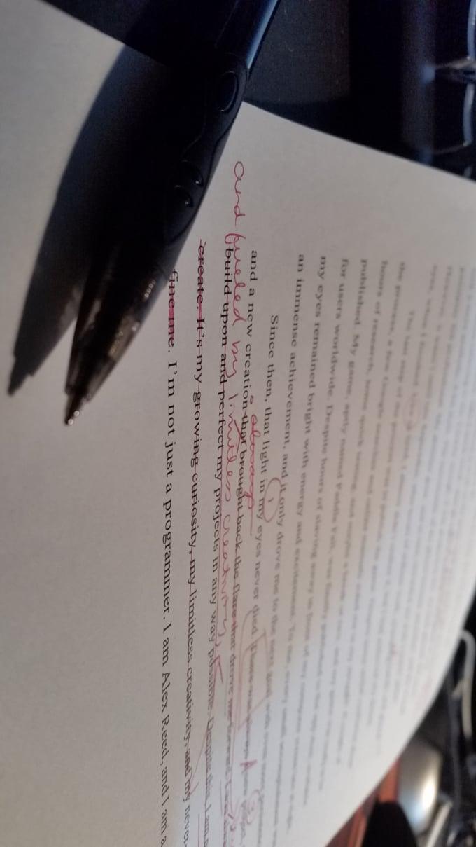 Revising Drafts