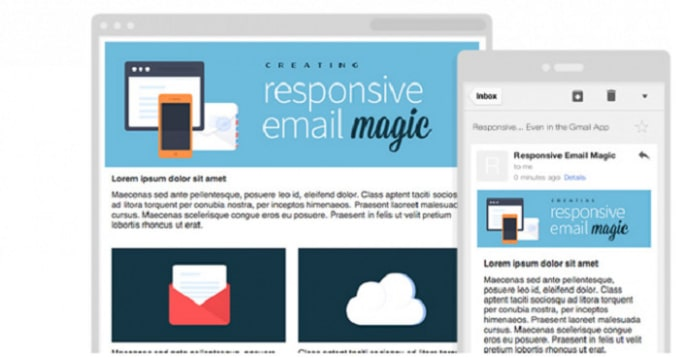 Create Email Template Htmlmailchimpnewsletter In 2 Hours By Sabbir03