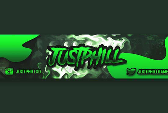 genehsis : I will create a clean banner for youtube, twitter, facebook, etc  for $5 on www fiverr com