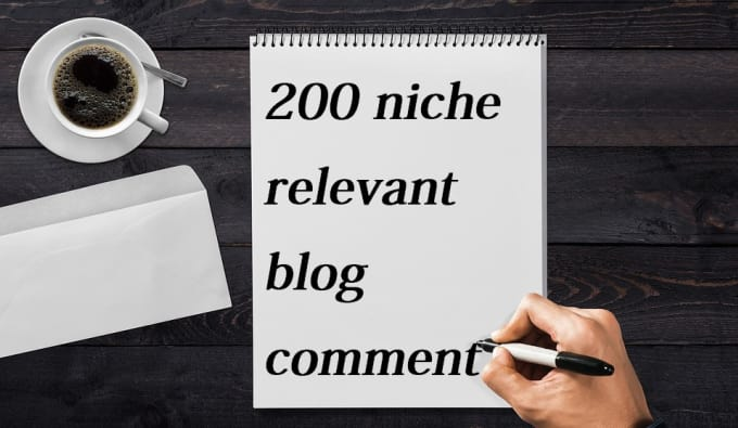 do 200 niche relevant blog comment high quality back link