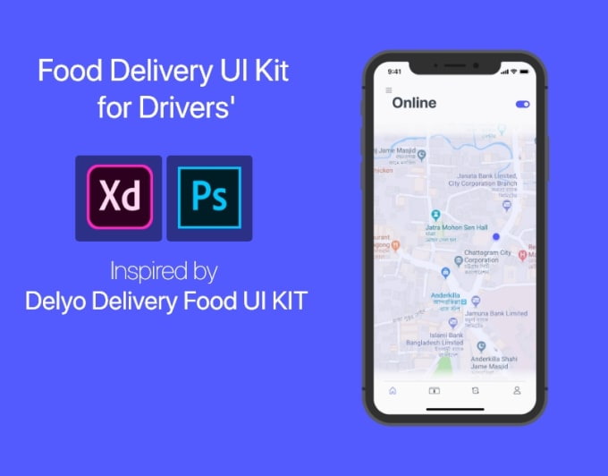 do ux ui design for website, ios and android