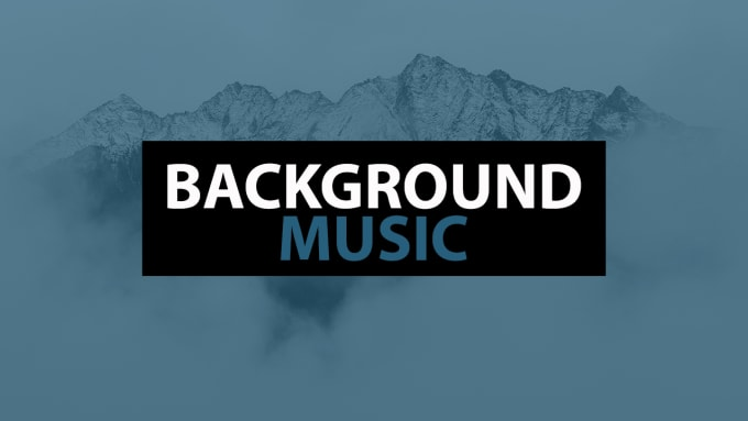 give you 5 tracks of background music for your projects