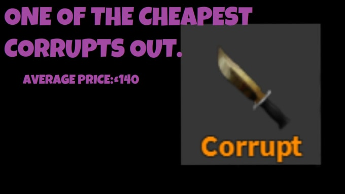 Roblox Mm2 Knife Values - Give You Corrupt Knife