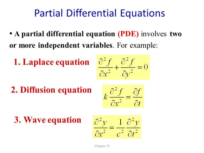 mathematiciantk : I will solve partial and ordinary differential equations  for $5 on www fiverr com